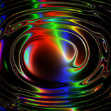 Abstract background. Abstract wavy background, computer generated Stock Image