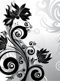 Abstract  background. Abstract floral background. A  format is added. Suits well for a postcard or background Stock Photo