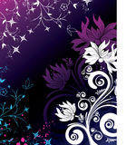 Abstract  background. Abstract floral background. A vector format is added. Suits well for a postcard or background Royalty Free Stock Photo