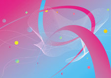 Abstract background. With pink tape Royalty Free Stock Photos