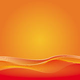 Abstract Background. Abstract orange background. Simple and clear. Space left open for your text or artwork Vector Illustration