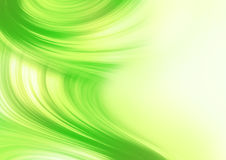 Abstract background. In light of yellow and green Royalty Free Stock Photography