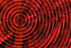 Abstract background. Abstract red hypnotic 3D background Stock Photography