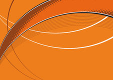Abstract Background. An abstract background orange background Stock Photo