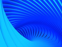 Abstract  background. Abstract art blue arc background Royalty Free Stock Photography