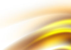 Abstract background. Light abstract background in yellow and brown Stock Photography
