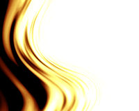 Abstract background. With golden wave royalty free illustration