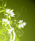 Abstract  background. Abstract floral background. A  format is added. Suits well for a postcard or background Stock Images