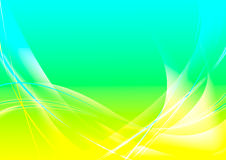 Abstract background. With waves and lines stock illustration