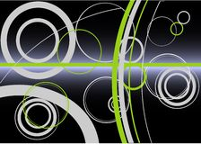 Abstract background. On black background stock illustration