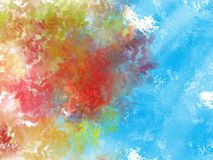 Abstract Background. Colorful Abstract Background stock illustration