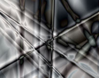 Abstract background. Black-and-white abstract background with crossed lines Royalty Free Stock Photography