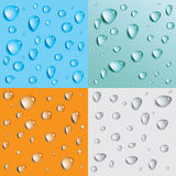 Abstract background. With bubbles in the layer of water. Vector Royalty Free Illustration