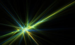 Abstract background. Fractal picture on a black background Royalty Free Stock Images