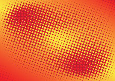 Abstract background. Vector illustration of halftone background Stock Photography