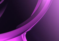Abstract Background 66. Study of form and color, 3D rendered image produced with Bryce Royalty Free Stock Photography