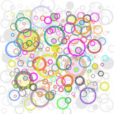 Abstract Background. An Abstract Background with Circles Royalty Free Stock Photography