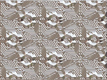 Abstract background. Highly detailed abstract chrome background Stock Image
