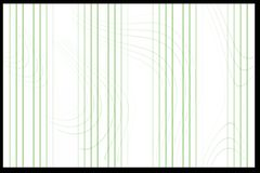 Abstract Background. Background with green unique waves and bars Royalty Free Stock Image