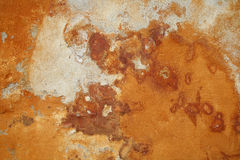 Abstract background. Beautiful 500 years old painted wall Stock Image