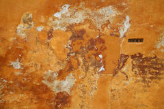 Abstract background. Beautiful 500 years old painted wall Royalty Free Stock Photo