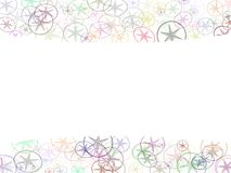 Abstract Background. Stars created by photo-shop brush tool Stock Photography