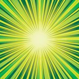 Abstract background. Abstract green background with flashes stock illustration