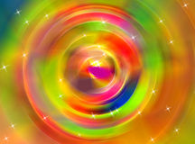 Abstract color swirl. An abstract design work using different colour swirls Royalty Free Stock Images