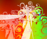 Abstract background. Abstrac design work using different colours Stock Photos