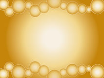 Abstract background. Illustration of golden abstract background royalty free illustration