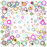 Abstract Background. An Abstract Background with Circles Stock Photography