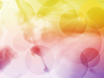 Abstract background. Colorful circles abstract background Royalty Free Stock Images