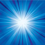 Abstract background. Blue abstract background with shining stock illustration