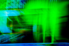 Abstract Background. A green and blue abstract background made from lights Royalty Free Illustration