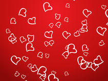 Abstract background. Abstract vector st.valentine's day background Royalty Free Stock Photos