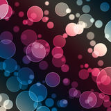 Abstract Background. Of Color Circles Vector Illustration