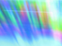 Abstract background. Colorful lines made by reflecting light Stock Image