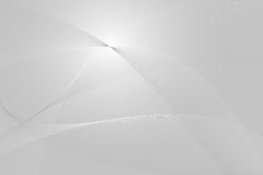 Abstract background. With lines and waves, silver tones Royalty Free Stock Images