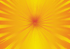 Abstract background. With orange and yellow rays Royalty Free Stock Photo