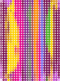 Abstract background. With multicolor stripes Royalty Free Stock Photos