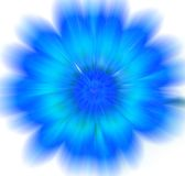 Abstract Background. Blue flower abstract Stock Image