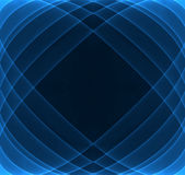 Abstract background. Abstract dark blue background with light protruding Royalty Free Stock Photography