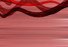 Abstract background. Abstract waves Royalty Free Stock Images