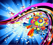 Abstract Background. Background Mix of abstract colorful elements Royalty Free Stock Photo
