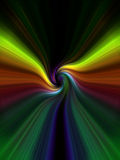 Abstract background. Computer designed colorful abstract background royalty free illustration
