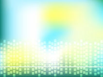 Abstract background. Mesh web abstract background with dots and squares royalty free illustration