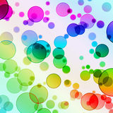 Abstract Background. Of Color Circles Royalty Free Illustration