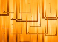 Abstract background. Made of overlapping squares Royalty Free Stock Photography