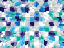 Abstract background. Made of colorful square vector illustration