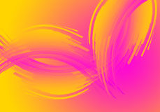 Abstract background. Abstract colour background in yelow, orange and pink,  illustration Stock Photos
